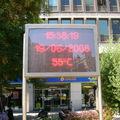 Il fait chaud c'est clair, par contre 55°C on en doute un peu...