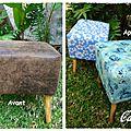 Carnet de couture sous le manguier