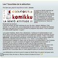 Komikku : la grande finale...