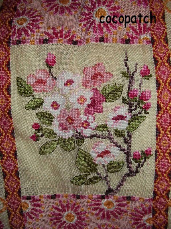 détail sac cerisier