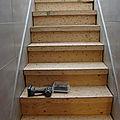 Rénover la <b>cage</b> des escaliers