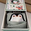 Coffret Pingouin et chaussettes assorties
