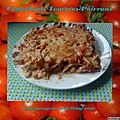 Cannelonis tomates-poivrons