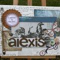 41 - Alexis : mini canvas