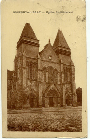 76 - GOURNAY EN BRAY - Eglise Saint Hildebert
