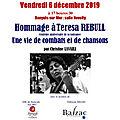Inauguration de l'exposition Teresa Rebull à la mairie de Banyuls sur mer
