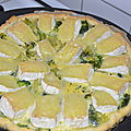 Tarte brocolis - camembert
