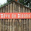 Rêve de bisons : un petit coin de canada en normandie