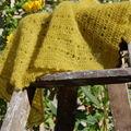 Eva's shawl en kid seta