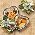 Vintage Love - Kit Collab by Butterfly Dsigns & Angélique Scrap