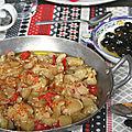 Aubergine grillée au piment