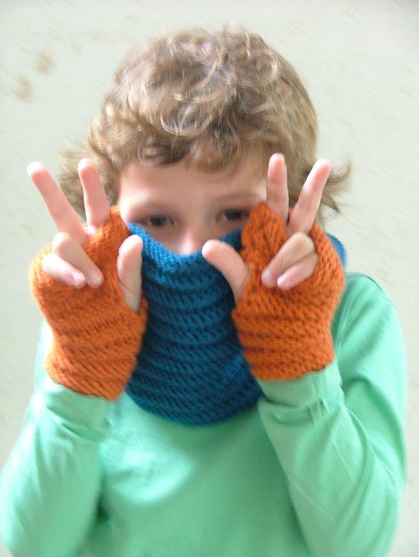 Snood et mitaines