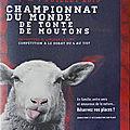 ON AURA TOUT VU : DES MOUTONS EXIGENT D'ÊTRE TONDUS PAR DES CHAMPIONS (DU <b>MONDE</b>) !