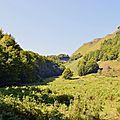 Pic de Guilhers depuis le sentier de Coeyloge.