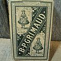 Ancien Jeu de <b>Cartes</b> B.P. GRIMAUD Publicitaire GIBBS Vers 1900
