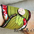 bracelet feuille 003