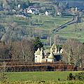 château de Cordès (depuis Orcival)