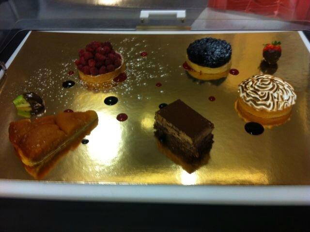 Pateau de desserts