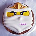 <b>Gâteau</b> Ninjago Zane