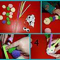Activité : chenille en pompons (3)