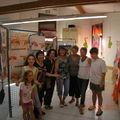Exposition 2013 de l'Atelier Dessins et <b>Peintures</b> de la Maison de Quartier de la Tourtelle <b>à</b> <b>Aubagne</b>
