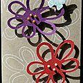 02. kraft, violet et rouge - grosses marguerites