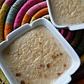 Petite crème dessert croustillante au beurre de cacahuète