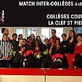 Le cicmit 17 : début des matchs inter-collèges