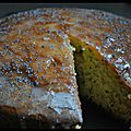 Gâteau citron/pavot