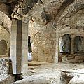 Abbaye troglodytique de St Roman