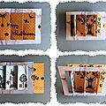 Tutoriel de <b>carte</b> à volet : les fantômes d'halloween se cachent...