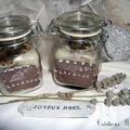 Petits bocaux bougies artisanales parfumées