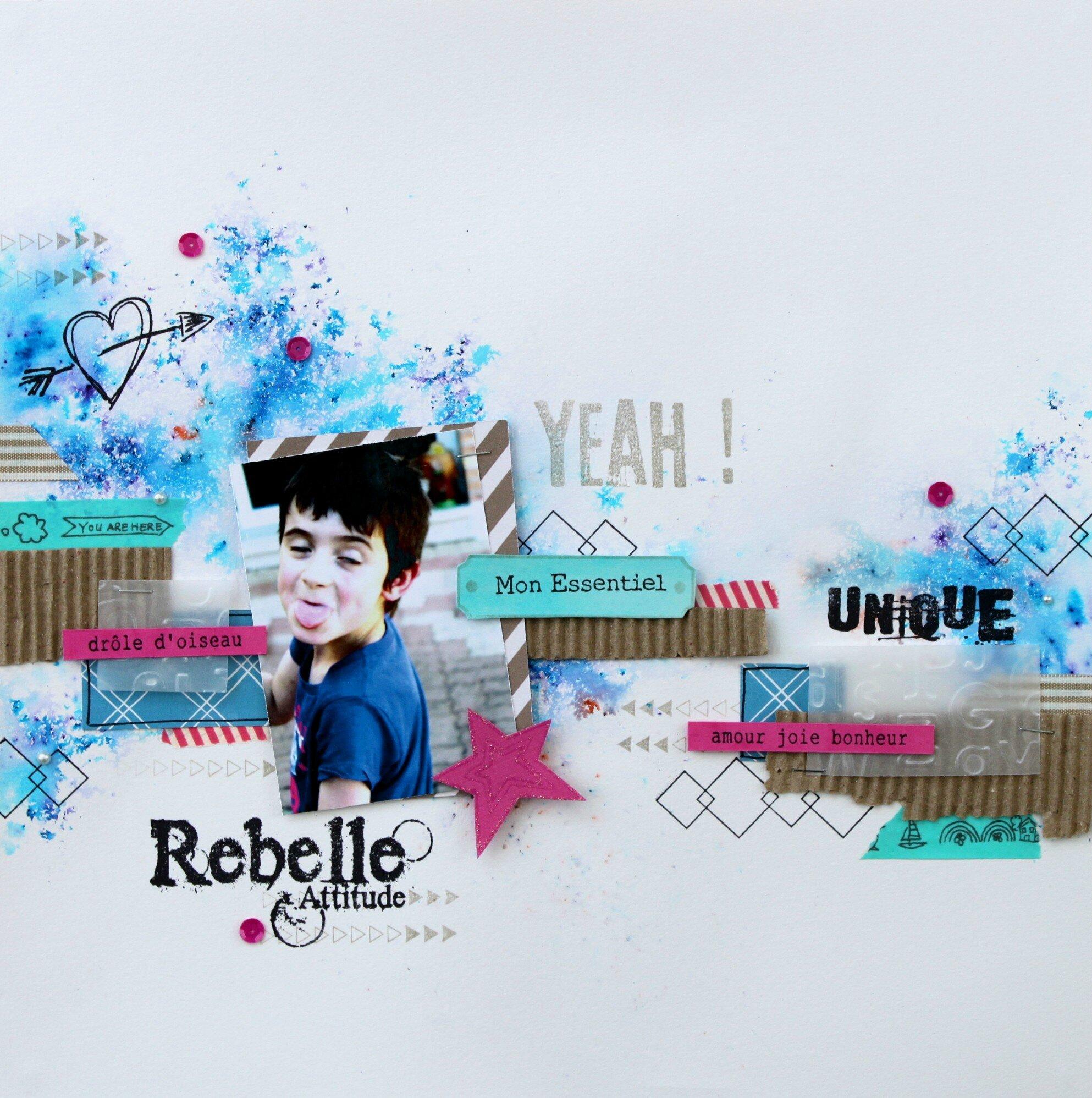 rebelle attitude