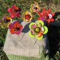 flower fibules