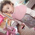 chauffe-coeur (baby cashmerino de debbie bliss, colori soft dusty pink)