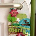 Door hanger laurapack
