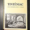 Tinténiac : Essai de <b>monographie</b> paroissiale et communale - Abbé Pierre Bossard