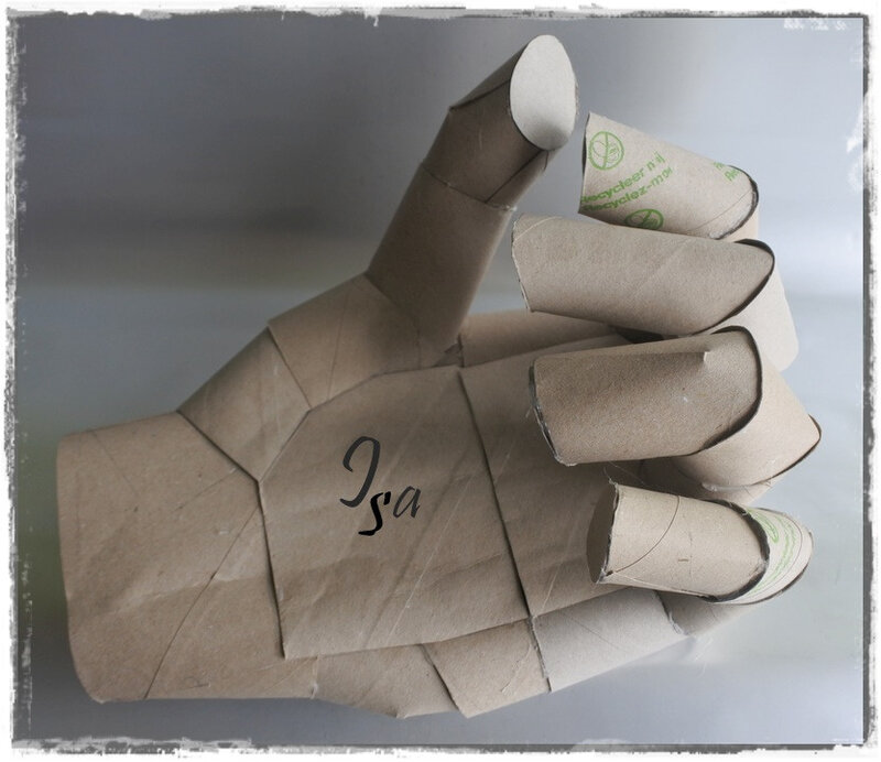 Hand cardboard
