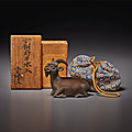 Chinese Scholarship Art from the Junkunc Collection at Christie's New York, 23-24 september 2021