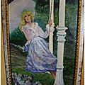 Une demoiselle sur une balançoire (katyl)