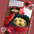Clafoutis en cocotte : poire figue & amande (cuisine du placard)