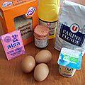 Gâteau au yaourt à la confiture de griottes