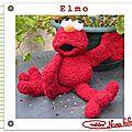 Elmo crochet tuto