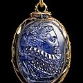 Queen Elizabeth I <b>Cameo</b> Locket