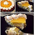 Lemon curd cheese cake comme à london