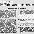 1932 28 Mars : Inauguration de la chapelle St lié