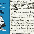 <b>Nietzsche</b> fasciné par le génie corse