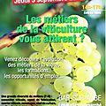 La viticulture : un domaine qui recrute !