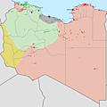 Libye (situation début 2016)