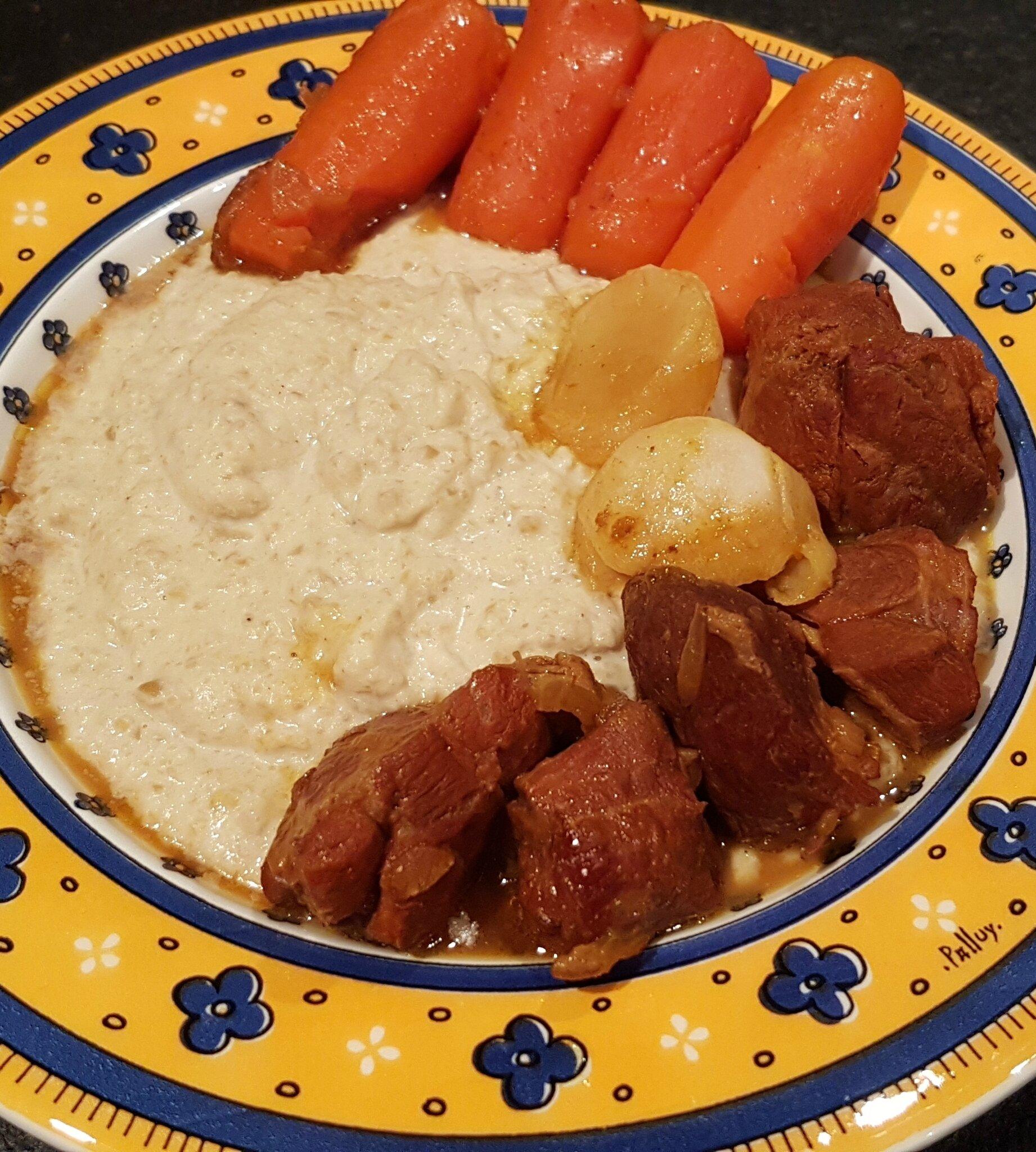 Souris d'agneau aux épices et citron confit